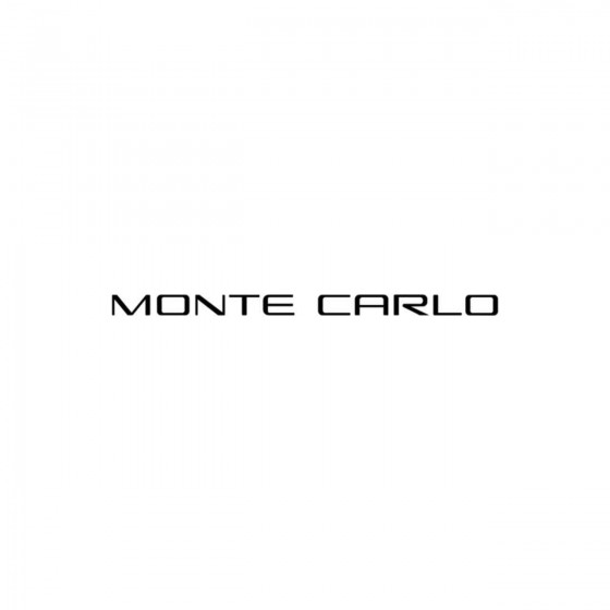 Chevrolet Monte Carlo Vinyl...
