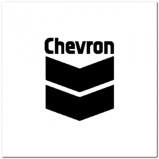 Chevron Vinyl Decal