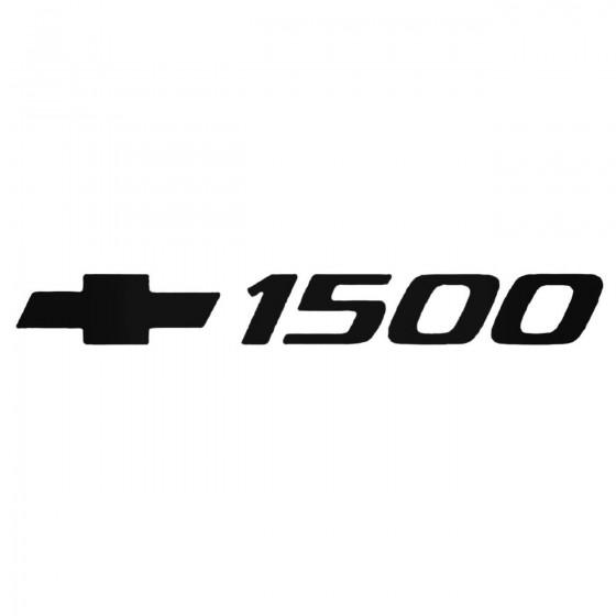 Chevy 1500 Decal Sticker