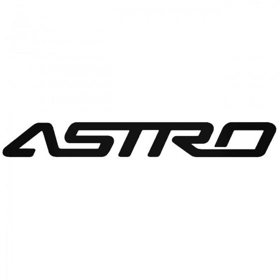 Chevy Astro Van Sticker