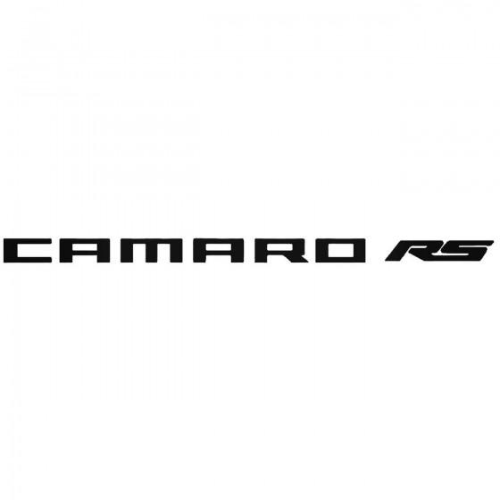 Chevy Camaro Rs Sticker