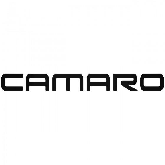 Chevy Camaro Sticker
