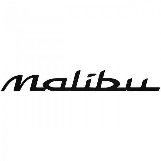 Chevy Malibu Sticker