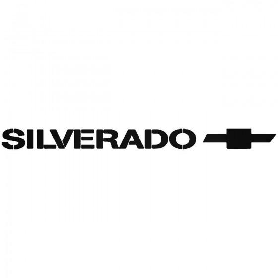 Chevy Silverado 3 Sticker