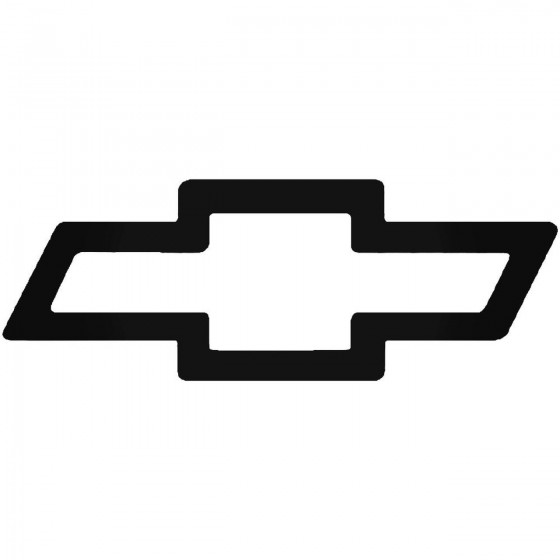 Chevy Symbolthick Outline...