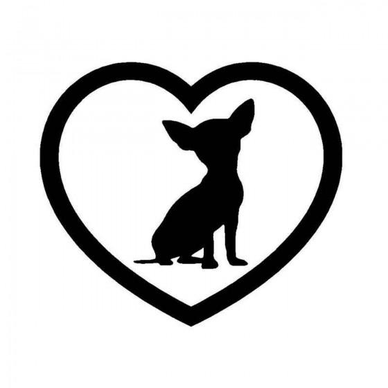 Chihuahua Heart Dog Breed...