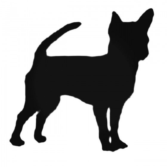 Chihuahua Style 4 Decal...