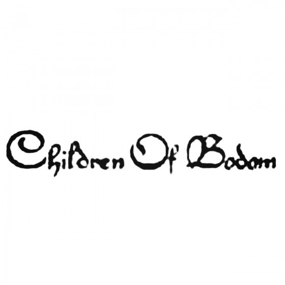 Children Of Bodom Decal...