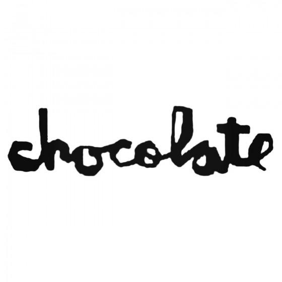 Chocolate Decal Sticker
