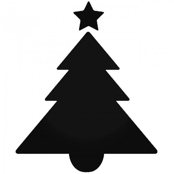 Christmas Tree 44 Decal