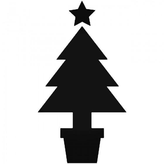 Christmas Tree 946 Sticker