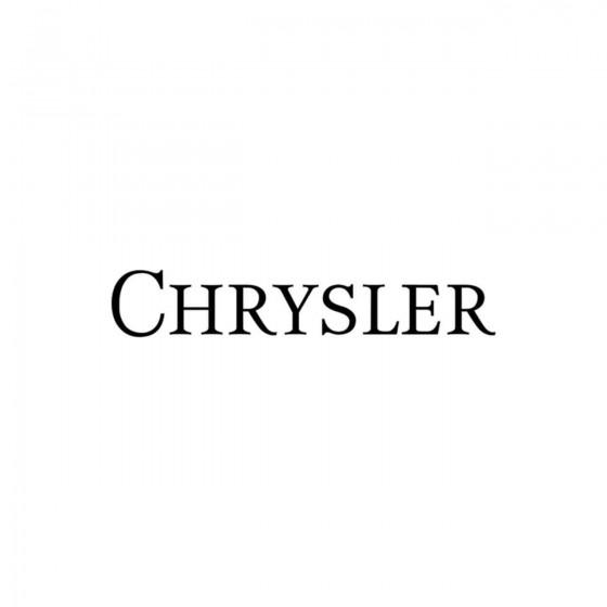 Chrysler Ecriture 3 Vinyl...
