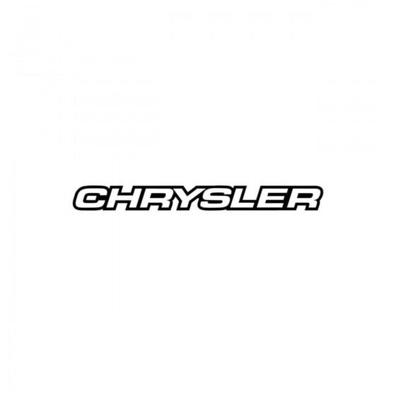 Chrysler Ecriture 4 Vinyl...