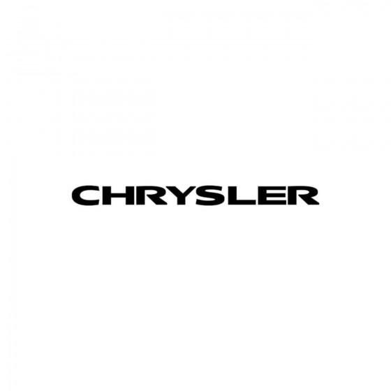 Chrysler Ecriture Vinyl...