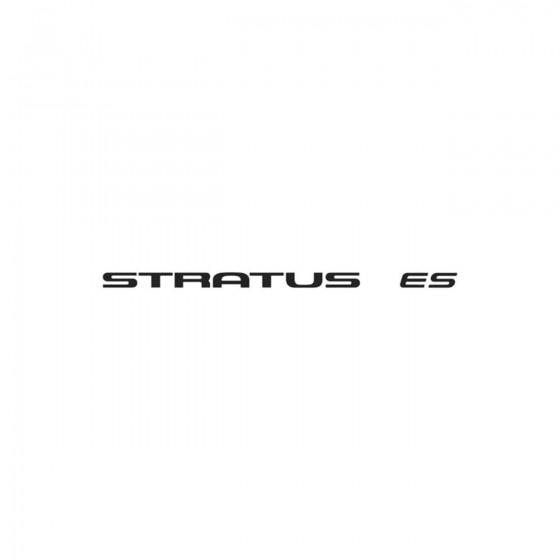 Chrysler Stratus Es Vinyl...