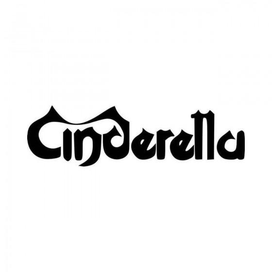 Cinderalla Band Logo Vinyl...