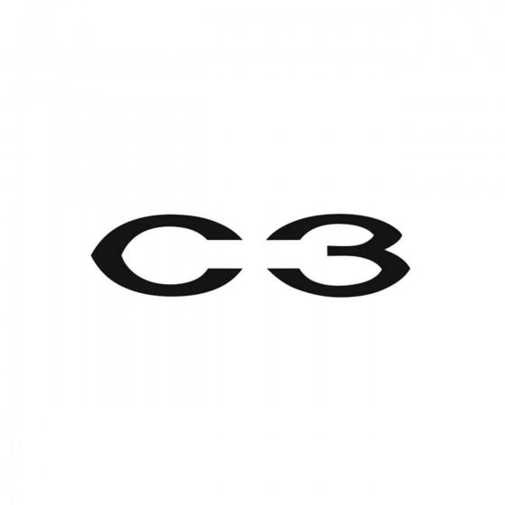 Citroen C3 Ecriture Vinyl...