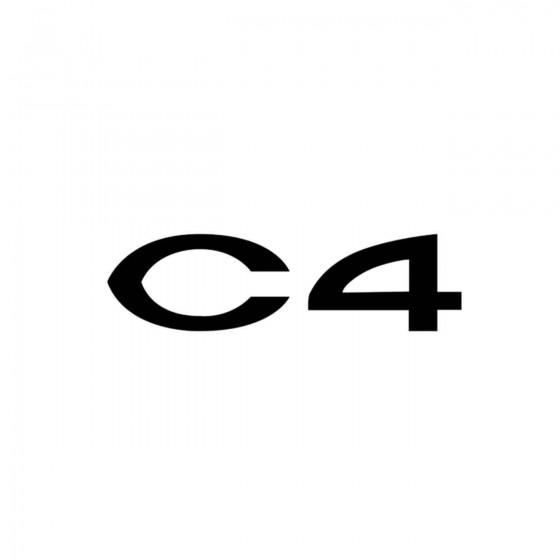 Citroen C4 Ecriture Vinyl...
