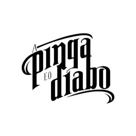 A Pinga E O Diabo Band Logo...