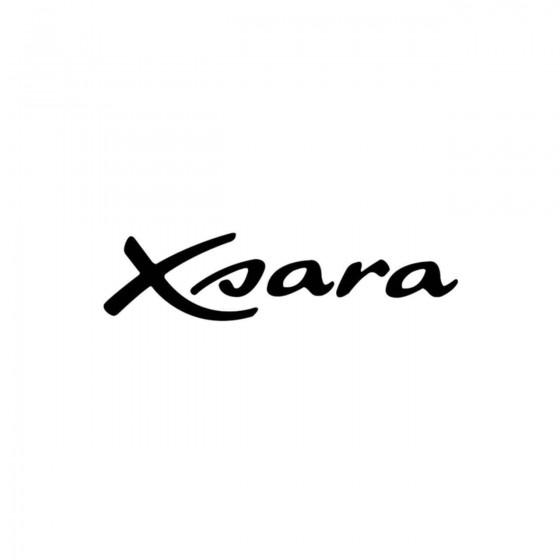 Citroen Xsara Vinyl Decal...