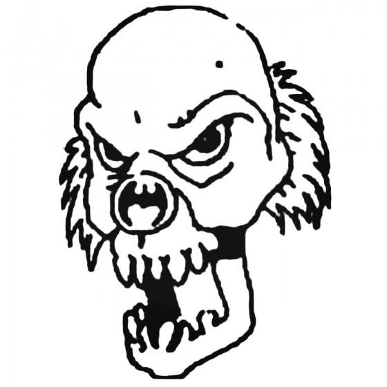 Clown Design 46 Decal Sticker