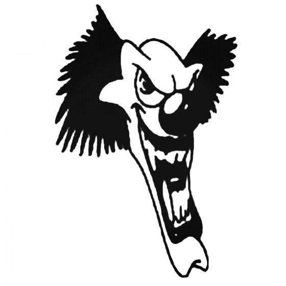 Clown Design 57 Decal Sticker
