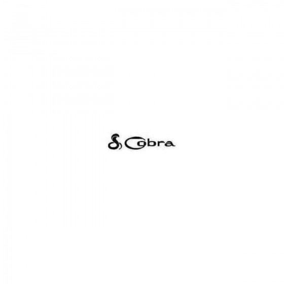 Cobra B Decal Sticker 1