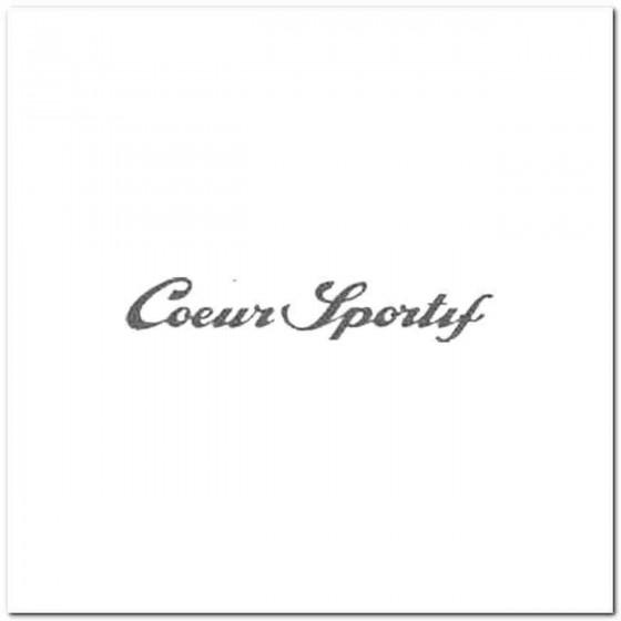 Coeur Sportif Vinyl Decal