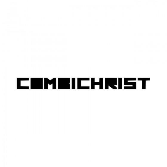 Combichrist Text Logo Vinyl...