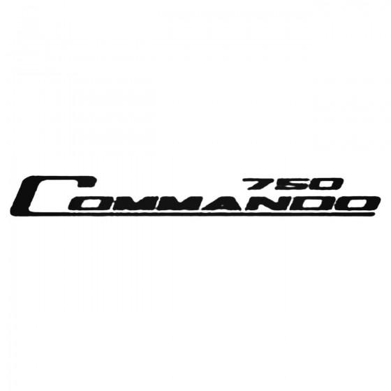 Commando 750 Decal Sticker