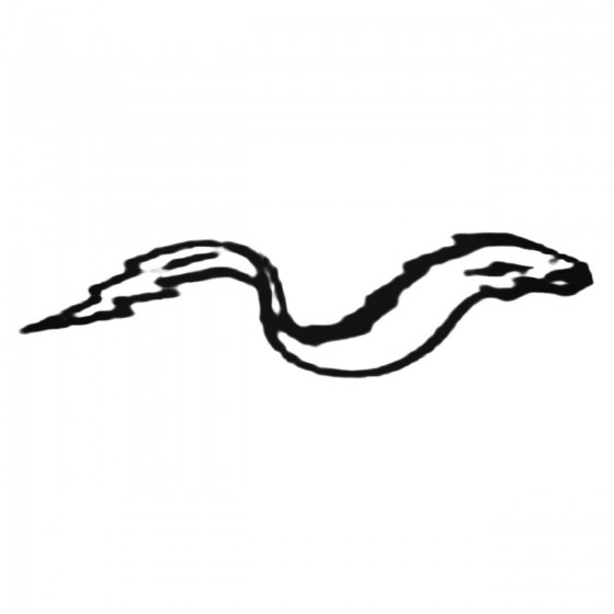 Cool Electric Eel Decal...