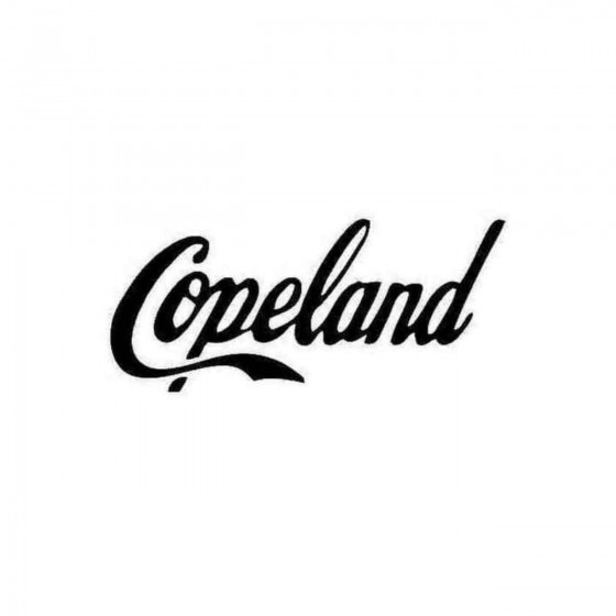 Copeland Decal Sticker