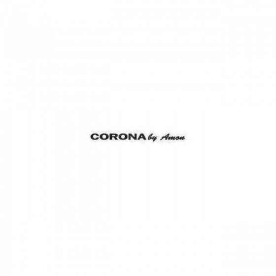 Corona Decal Sticker