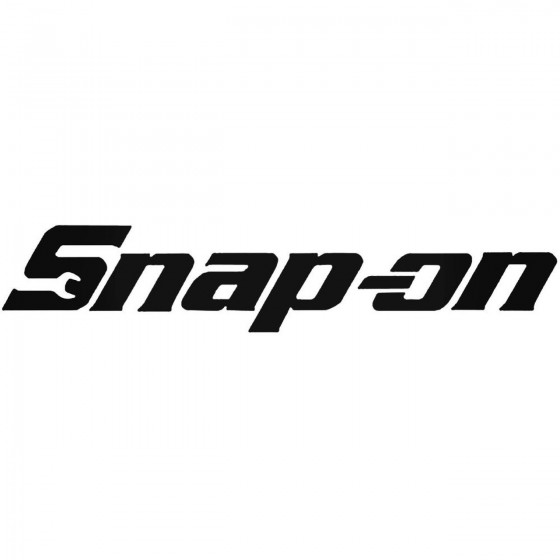 Corporate Logo S Snap On Decal