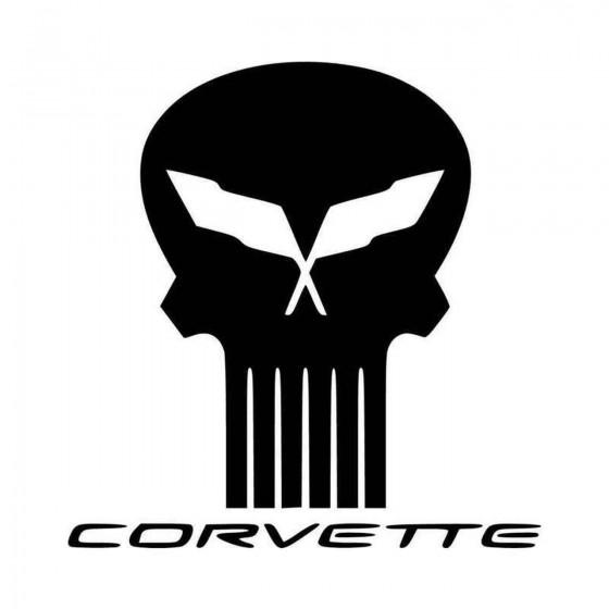 Corvette Skull Ver Vinyl...