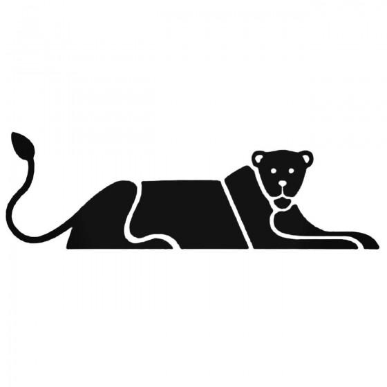 Cougar Decal Sticker
