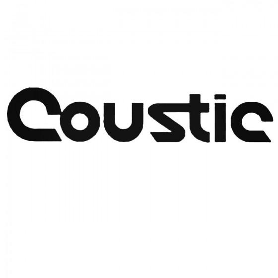 Coustic Audio V2 Set Decal...