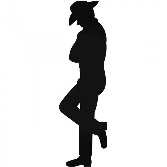 Cowboy 1163 Sticker