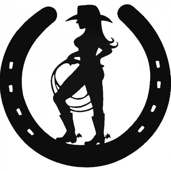 Cowgirl 1164 Sticker