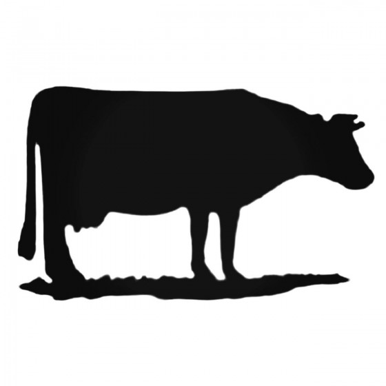 Cow Grazing Decal Sticker