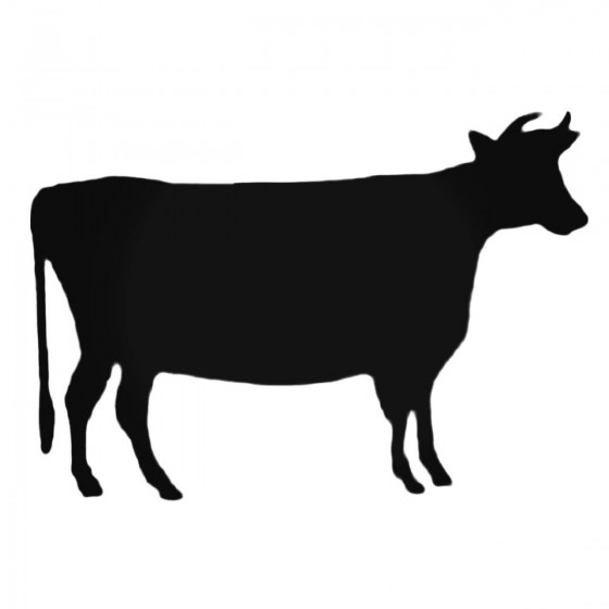 Cow Standing Decal Sticker