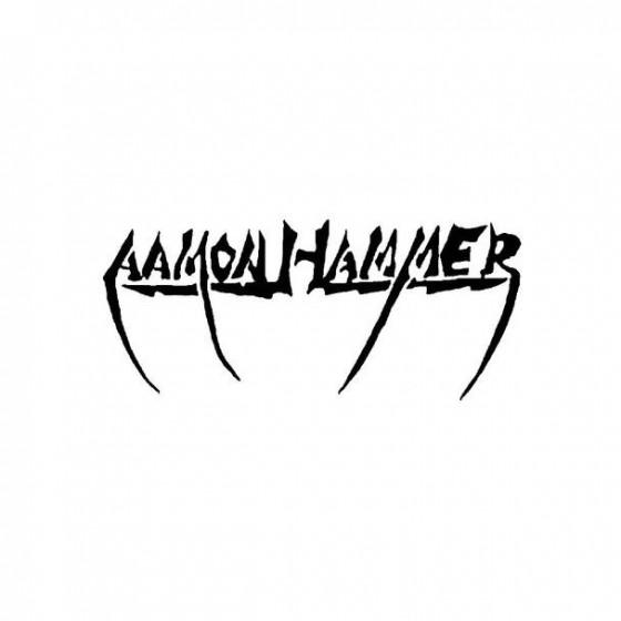 Aamonhammer Band Logo Vinyl...
