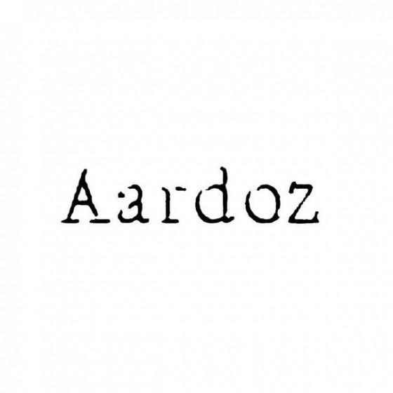 Aardoz Band Logo Vinyl Decal