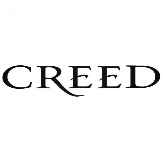 Creed Logo Decal Sticker