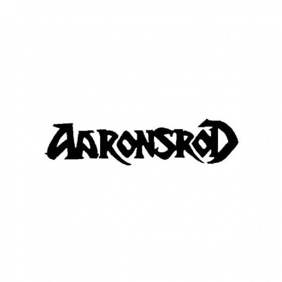 Aaronsrod Band Logo Vinyl...