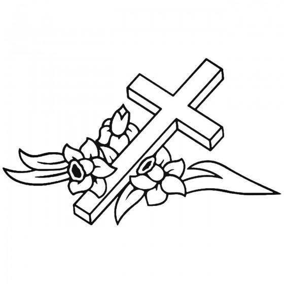 Cross Ribbon Christian...