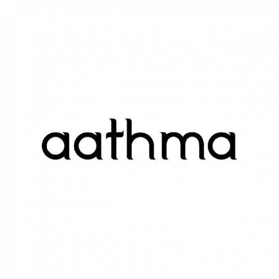 Aathma Band Logo Vinyl Decal
