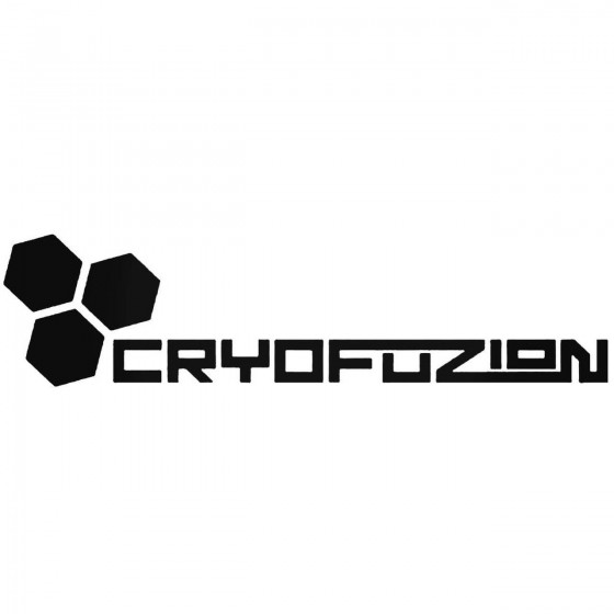 Cryofuzion Graphic Decal...