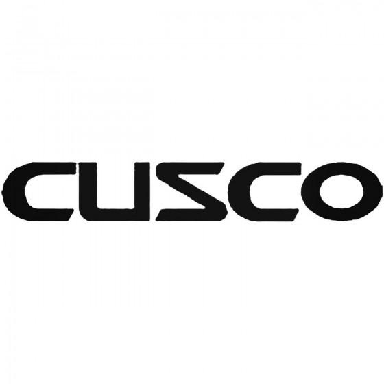 Cusco Vinyl Decal