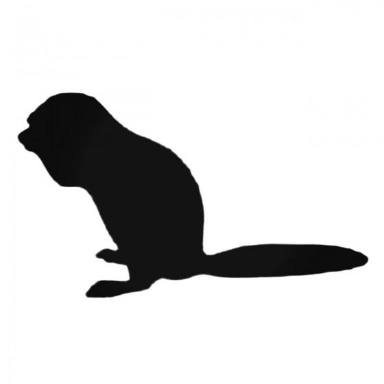 Cute Ferret Decal Sticker